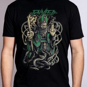 St Patrick shirt front
