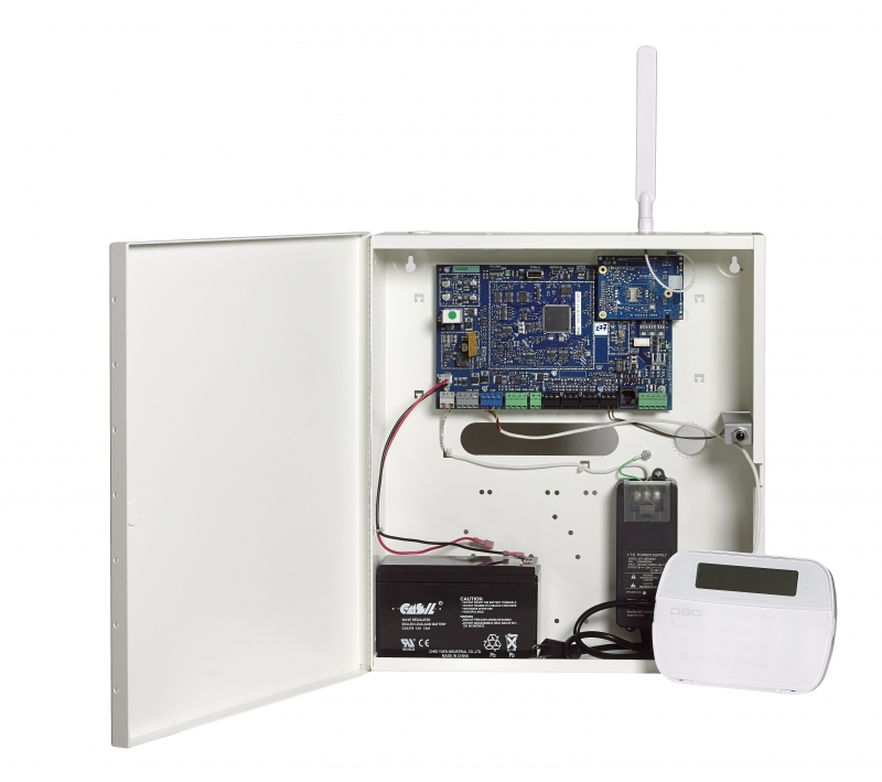 dsc alarm panel