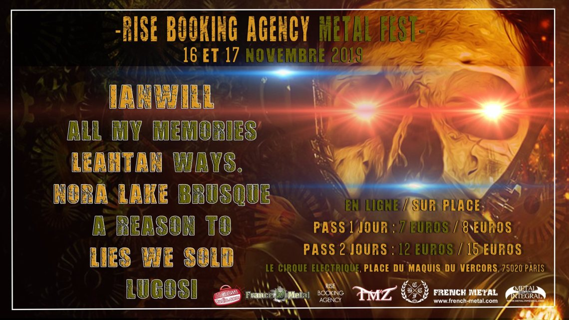 [PHOTOS REPORT] Rise Booking Agency Metal Fest !