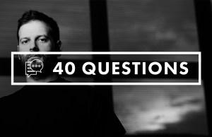 Enrico Sangiuliano - 40 Questions - Soundspace