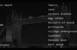 In Depth: London | Soundspace