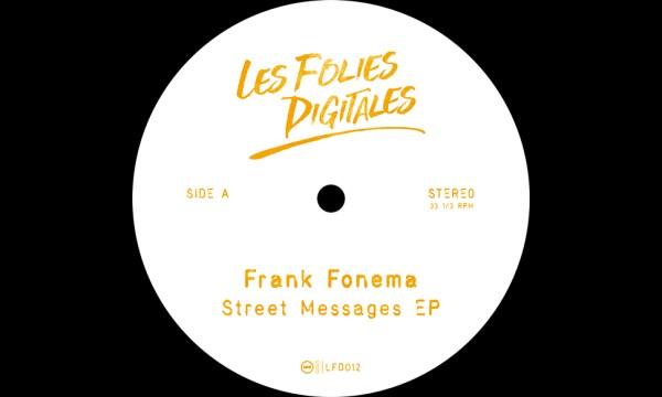 Premiere: Frank Fonema - Streets