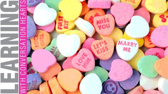 Valentines Candy Hearts. 30 super cute conversation heart ...