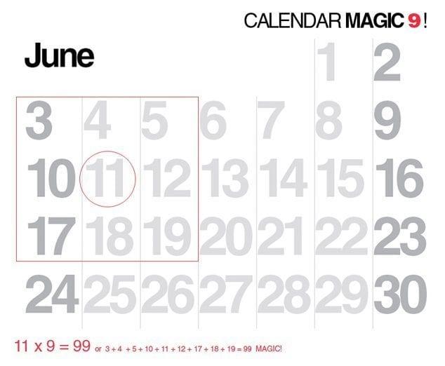 Calendar-Trick