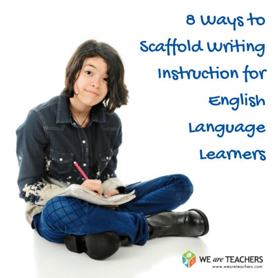 Scaffolding Writing Instruction for EnglishLanguage Learners