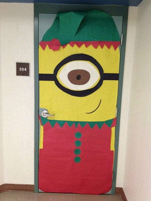 Minion Classroom Decoration Ideas ~ Amazing classroom doors for winter and the holidays