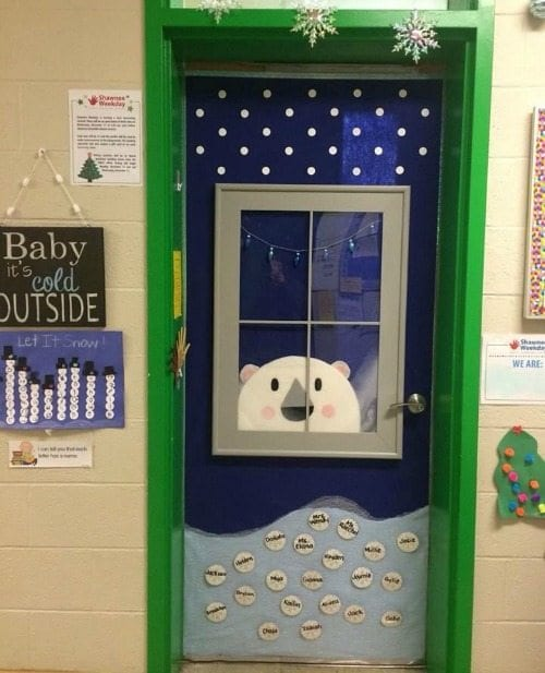 Door Decorating Ideas Home Decor And Design Image Of: Amazing Classroom Doors For Winter And The Holidays