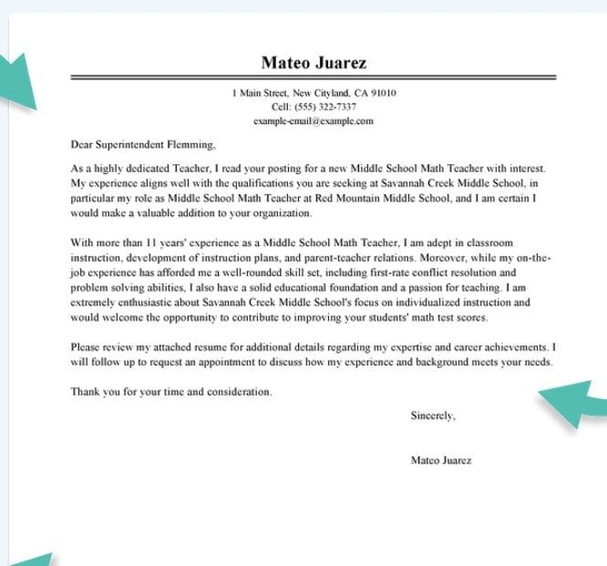 Cover Letter   Great Cover Letter Examples For Resumes  Resume Examples Cover Letter