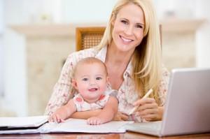 WorkingMum and child