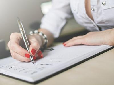 woman-writing-diary