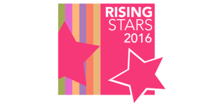Rising Stars -logo for corporate sponsorship