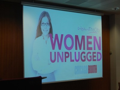 Women Unplugged stage