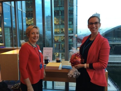 Oliver Wyman showcase their goodies