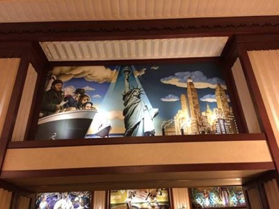 Lobby of Edison Hotel