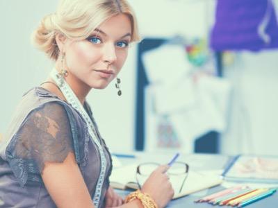 female fashion designer in creative industries featured