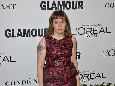Lena Dunham Glamour