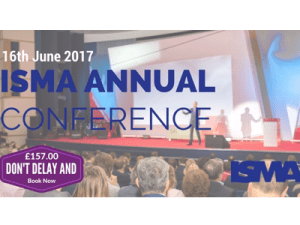 ISMA UK Annual Conference 'Growth 2017' @ Royal Over-Seas League, Park Place Overseas House, | England | United Kingdom