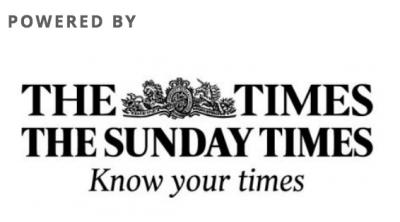 The Times and The Sunday TimesHeadline sponsor Rising Stars 2017