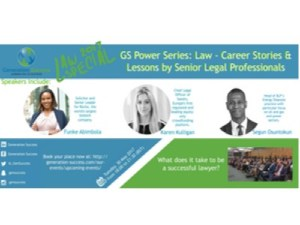 GS Power Series: Law – career stories and lessons from senior legal professionals @ Latham & Watkins | England | United Kingdom