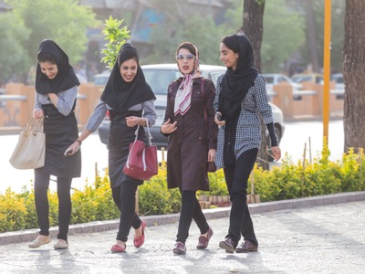 iranian women going to work featured