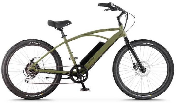 OceanCurrent Beach Cruiser Electric Bike
