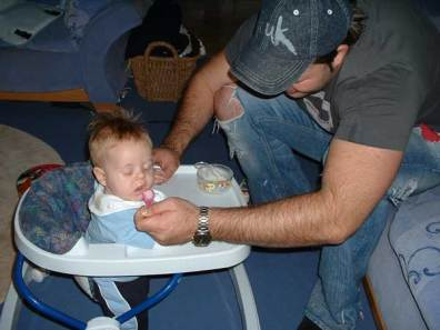 Kyler's First Feed