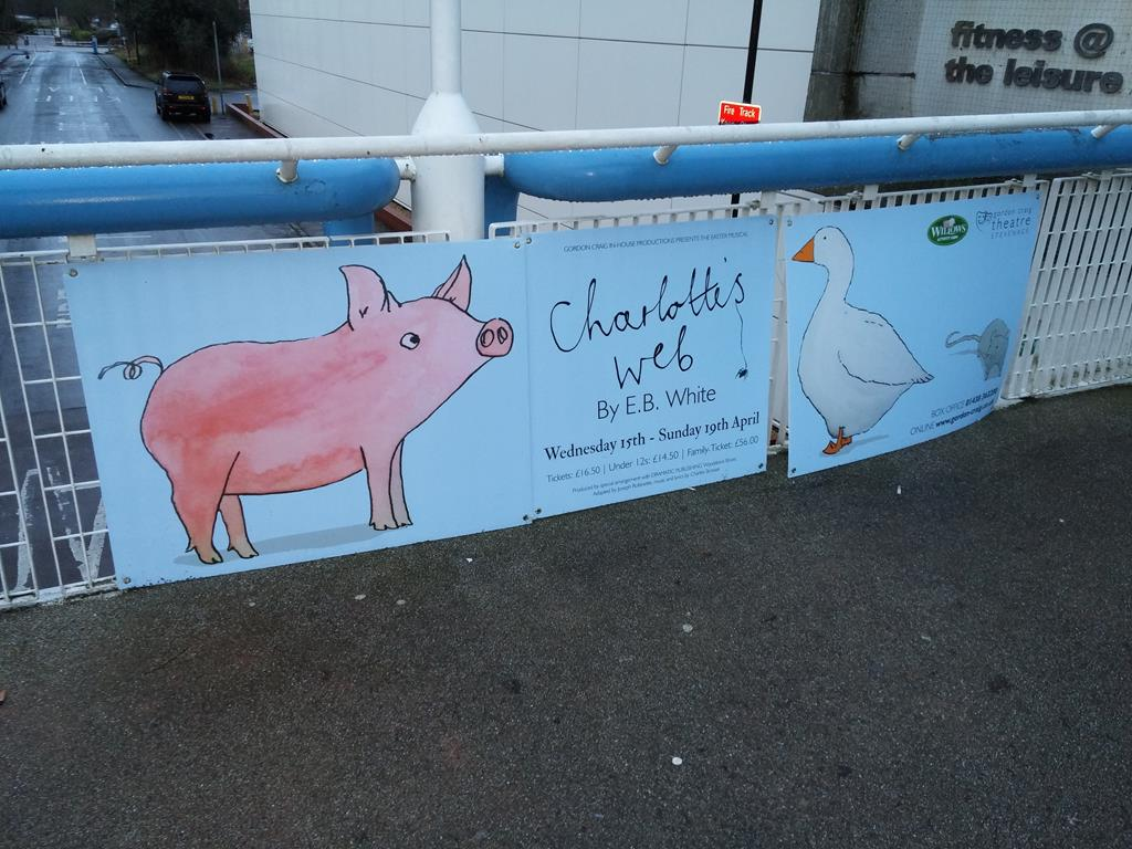 Kyler Got The Part In Charlotte's Web: 15-19th April 2015