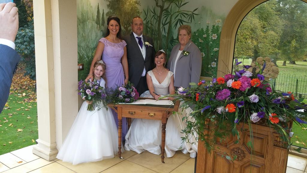 "Mr. & Mrs. Papworth Say ""I Do"" At Rowton Castle"