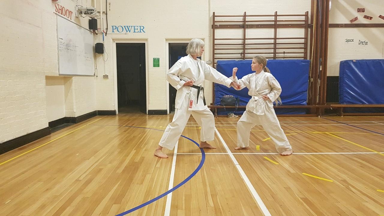Ninja Jaycee Smashes Her 9th Kyu Grading