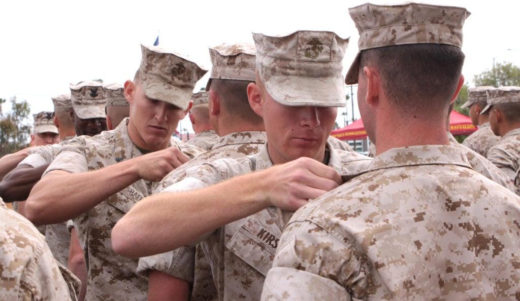 Field Medical Training Battalion Navy Marine instructors