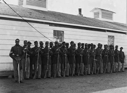 The first African-American regiment to serve in the US military earned their 'glory'