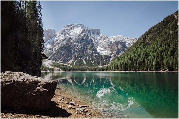 Turquoise Lake Dolomites