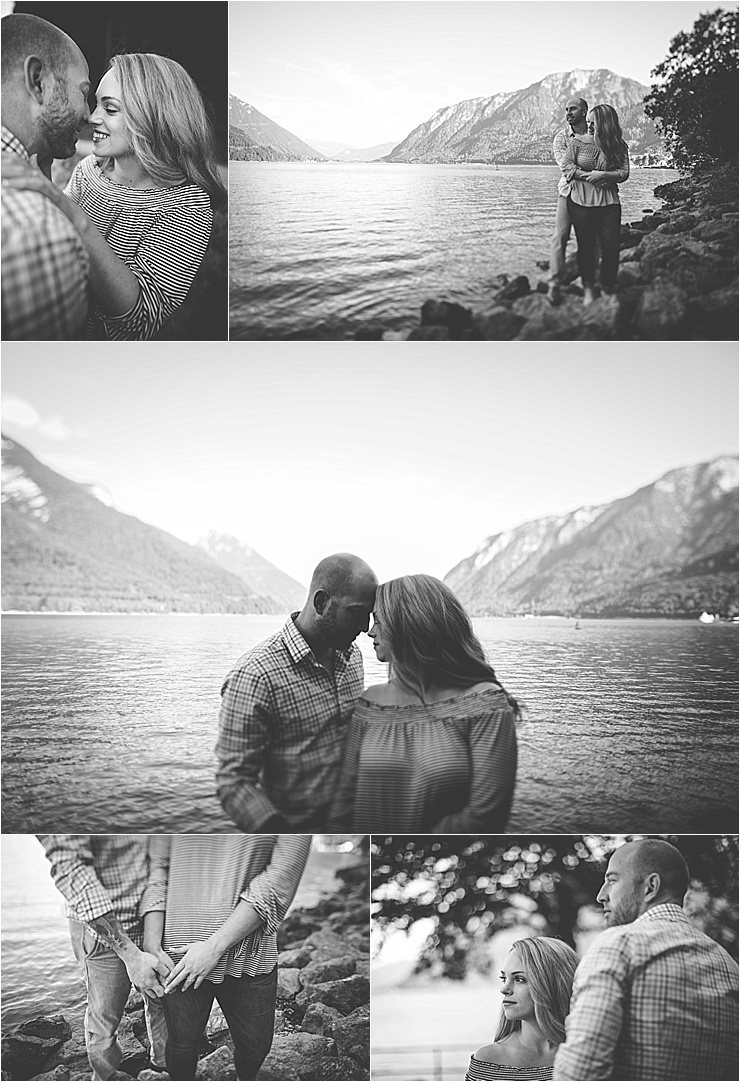 Engagement shoot at Lake Achensee in the Austrian Alps by Wild Connections Photography