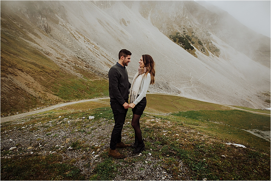 Mountain Top proposal in Austria by Wild Connections Photography