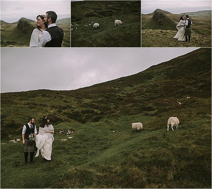 Isle of Skye Elopement, A Wild Isle Of Skye Elopement