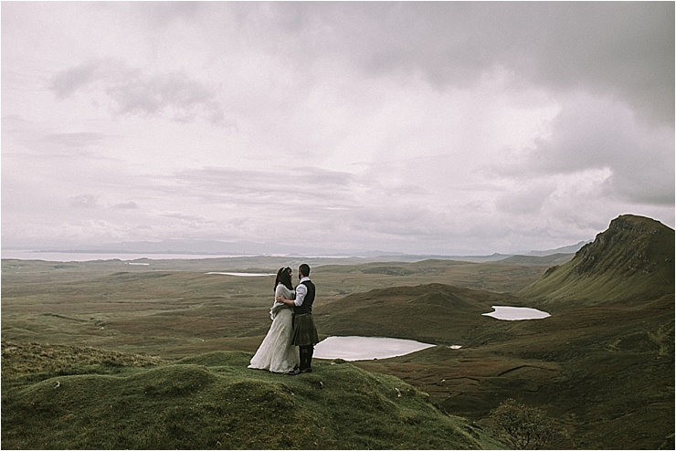 On top of the world in the Isle of Skye by Maureen Du Preez
