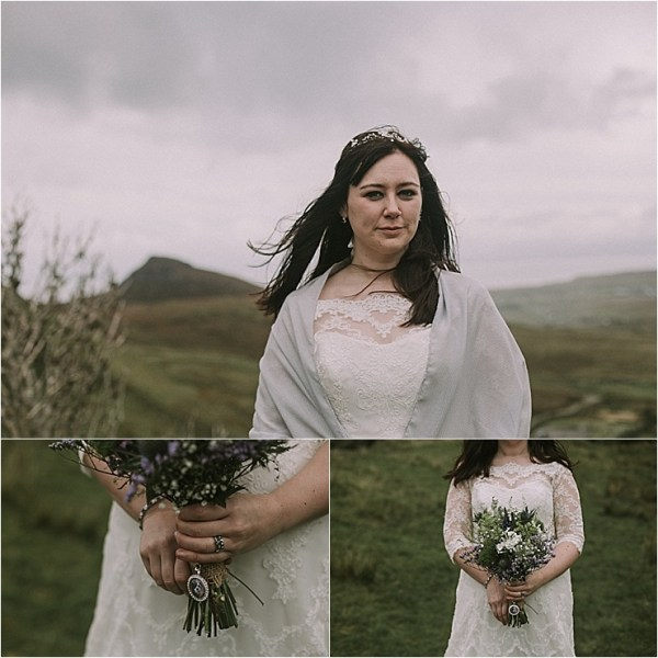 An Isle of Skye Scottish bride by Maureen Du Preez