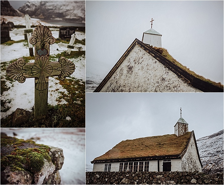 The church of Saksun in the Faroe Islands by We Are The Wanderers