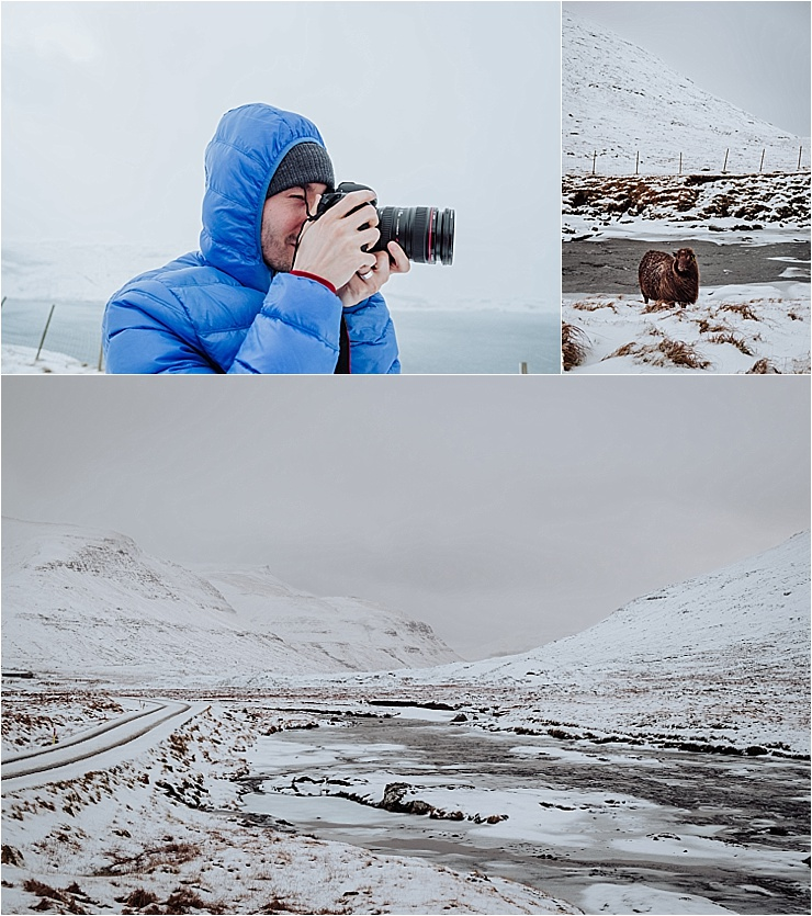 Exploring the snowy landscape in the Faroe Islands by We Are The Wanderers