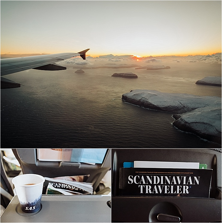 SAS flight to the Faroe Islands by We Are The Wanderers