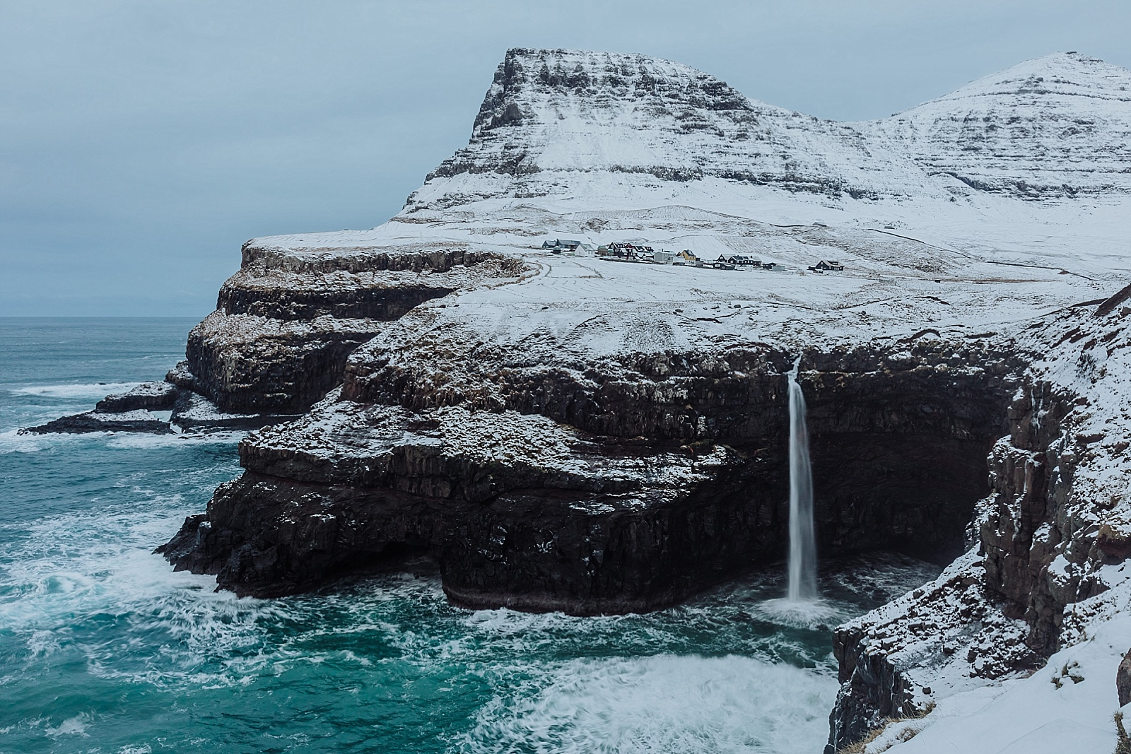 Gasadalur in the Faroe Islands by Wild Connections Photography