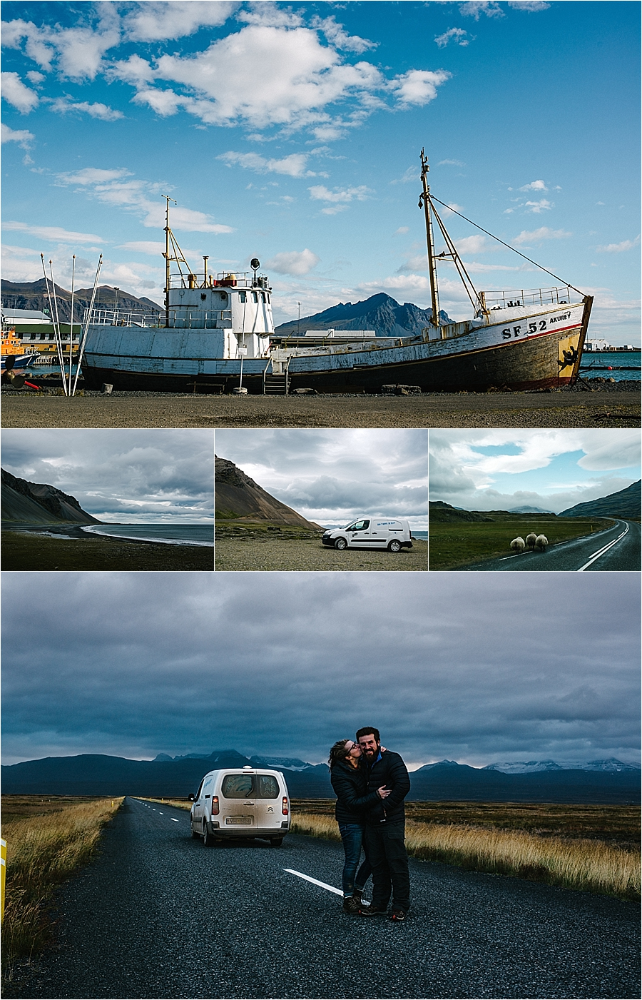 The town of Bakkagerdi on a road trip around Iceland's Ring Road by Carlyn K Photography
