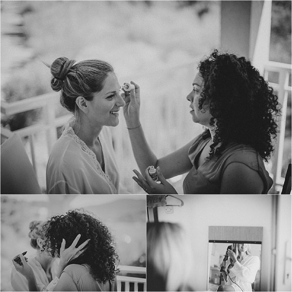 Bridal prep at an island wedding in Croatia by Matija Kljunak Weddings