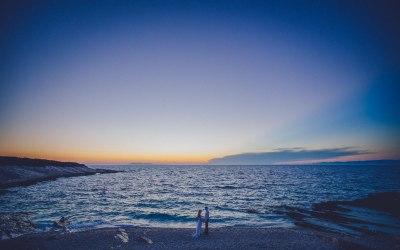A remote island wedding in Croatia by Matija Kljunak Weddings