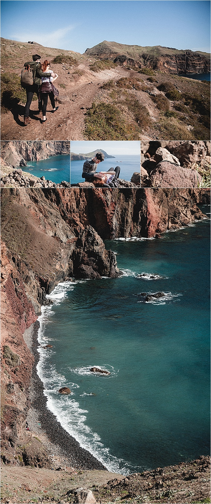 Hiking along the cliffs in Madeira by Konstanz-Fotograf