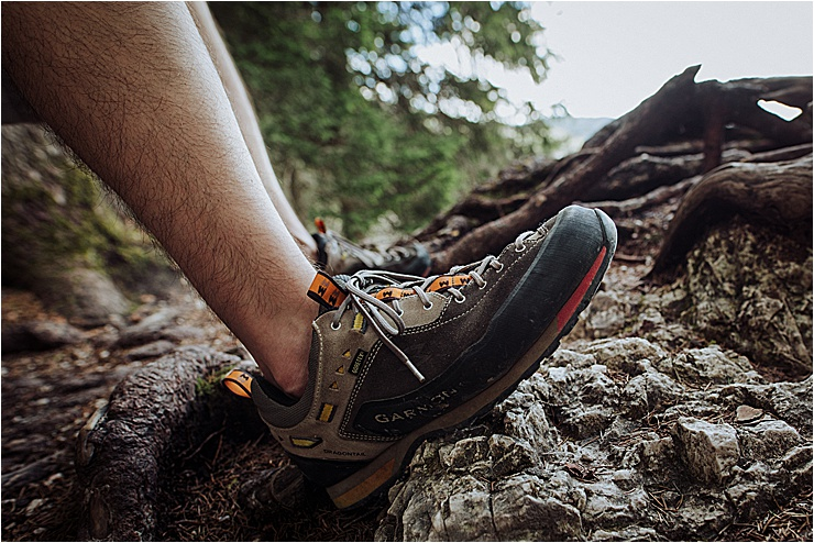 Garmont approad shoes for hiking in the Dolomites by Cat Ekkelboom-White