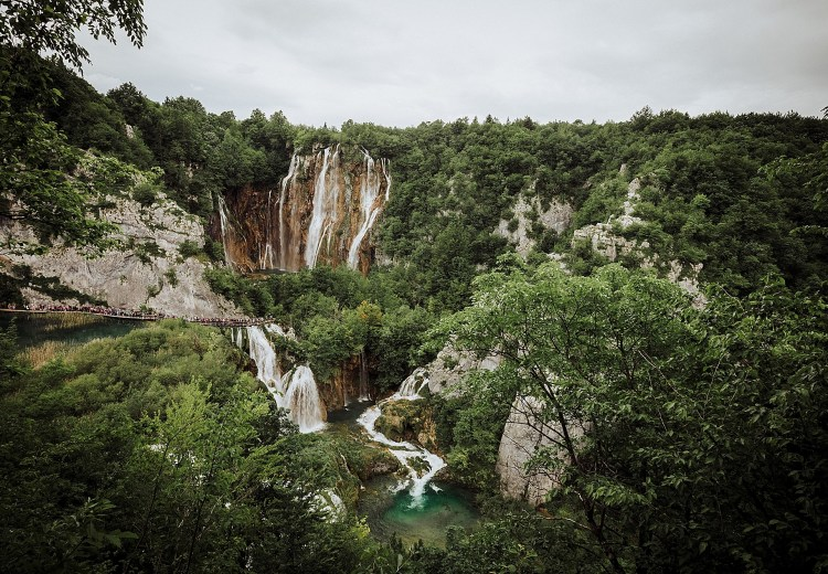 Hiking in Plitvice Lakes National Park by Wild Connections Photography