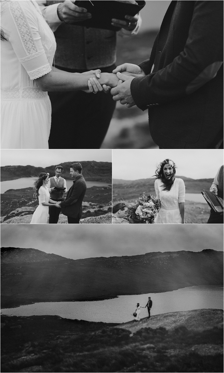 A wild elopement in Ireland in Glengarriff in West Cork by Paula O'Hara Photography
