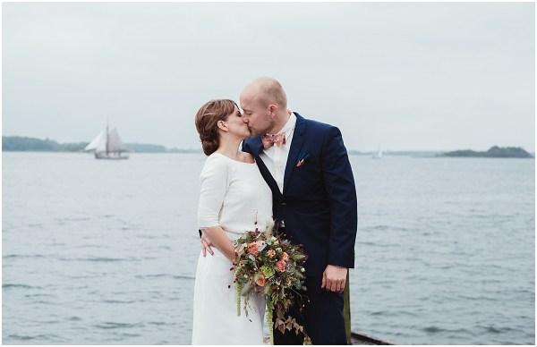 Waterfront Wedding in Denmark by Lauren McCormick Photography