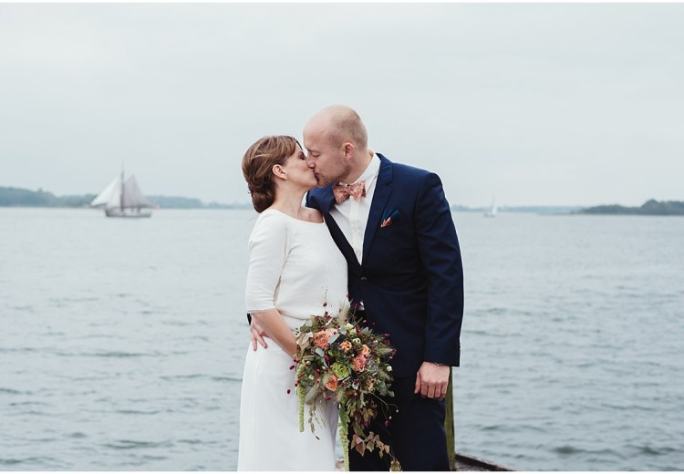 Waterfront Wedding in Denmark by Lauren McCormick Photography